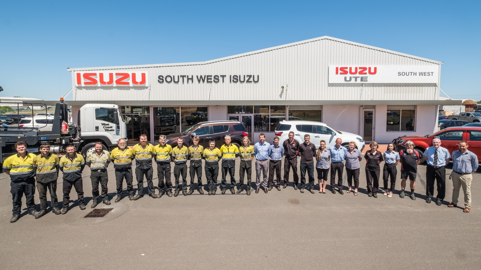 As The Specialist Isuzu Truck And Ute Sales And Service Team, We Are Very  Proud To Have Won The ISUZU Dealer Excellence Awards For Five Years Running.